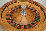 Antique Roulette Wheel By J.W Sneed, Long Beach California.