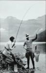 Banff National Park Fishing Photograph