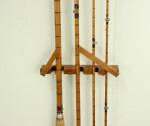 Fishing Rod Display Rack