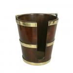 Mahogany Plate Bucket