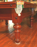 Antique George Wright Billiard / Snooker Table.
