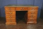 Antique Kneehole Partners Desk