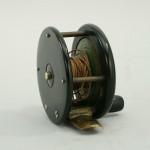Trout Fly Fishing Reel In Original Leather Case, J. Bernard
