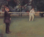 Sir Robert Ponsonby Staples Lawn Tennis Print