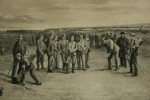 """""""Golf at St Andrews"""" Etching"""