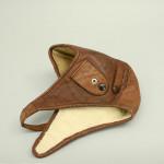Leather Motoring or Aviator Helmet