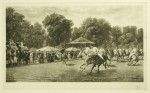 Polo, A Match between 9th Lancers & 10th Hussars - Hurlingham