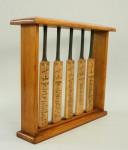 Gunn and Moore Cricket Bat Display.