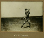 1909 Oxford University Golf Team Photograph