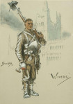 Snaffles WWI Military Print, Wipers.