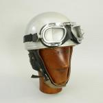 Motorcycle Crash Helmet, Everoak Pudding Basin