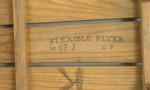 Wooden Sledge, Flexible Flyer