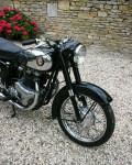 BSA A10 Golden Flash Motorcycle