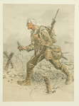 Snaffles WWI Military Print, The Canadian