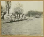 Rowing Oar and Photograph