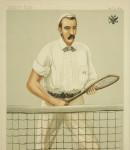 Vanity Fair Tennis Print 'Michael Michailovitch'.