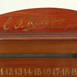 Antique Mahogany Billiard, Snooker Scoreboard.