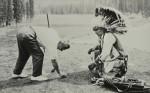'White Man's Magic' Canadian Photograph