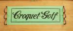 F. H. Ayres Croquet - Golf Set.