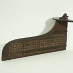 1863 Boat Race Rudder