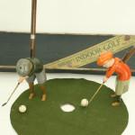 Pair of Schoenhut Indoor Golf Toys