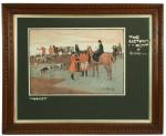 Lionel Edwards 'The Cuetown Hunt', Billiard Prints.
