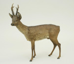 Austrian Cold Painted Bronze, Roe Deer