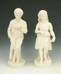 Parian Figures, Young England & His Sister