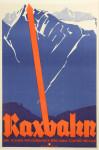 Ski Poster, Raxbahn, Joseph Binder