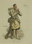 Snaffles WW I Military Print 'Jock'.