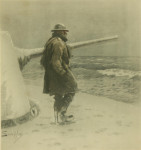 Snaffles WW II Military print 'Ubique Means- (R.K)'