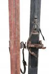 Antique Cross Country Skis, Scandinavian 19th.C.