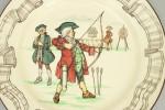 Royal Doulton Archery Plate