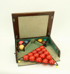 Snooker Balls In Carry Case