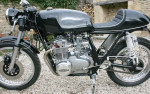 Honda Motorcycle CB 550 Cafe Racer