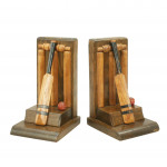 Vintage Cricket Bookends
