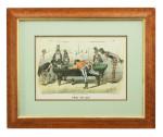 Pair of Currier & Ives Billiard Prints