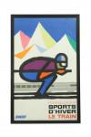 Guy Georget Ski Poster