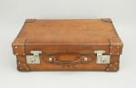 Leather Suitcase by Cleghorn, Edinburgh