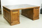 Oak Arts And Crafts Partners Desk