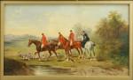 Hunting Paintings By J. Herbert