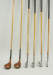 Set of Horace Fulford Golf Clubs.