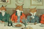 Mr. Fox's Hunt Breakfast on Xmas Day