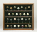 Golf Ball Display Cabinet.