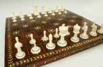 Ivory Chess Set with Board