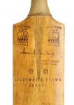 Lillywhite Cricket Bat, Tom Barling Autograph.