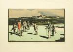 Golf Print, St Andrews after Arthur Loraine