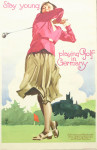 Golf Poster, Golf in Germany, Ludwig Holwein