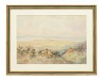 Original Watercolor, Westward Ho Golf Course.