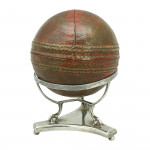 Silver Cricket Ball Stand